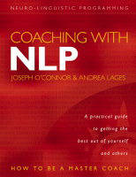 Jacket image for Coaching with NLP