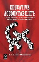 Jacket image for Educative Accountability