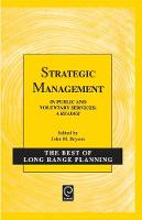 Jacket image for Strategic Management