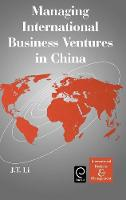 Jacket image for Managing International Business Ventures in China