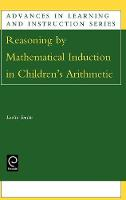 Jacket image for Reasoning by Mathematical Induction in Children's Arithmetic