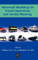 Jacket image for Advanced Modeling for Transit Operations and Service Planning