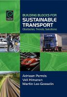 Jacket image for Building Blocks for Sustainable Transport