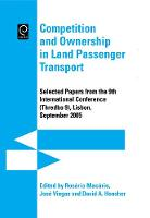 Jacket image for Competition and Ownership in Land Passenger Transport