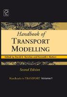 Jacket image for Handbook of Transport Modelling