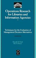 Jacket image for Operations Research for Libraries and Information Agencies