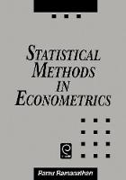 Jacket image for Statistical Methods in Econometrics