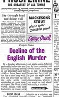 Jacket image for Decline of the English Murder