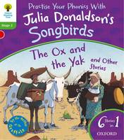 Jacket image for Oxford Reading Tree Songbirds: Stage 2: the Ox and the Yak and Other Stories