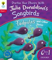 Jacket image for Oxford Reading Tree Songbirds: Level 4: Tadpoles and Other Stories