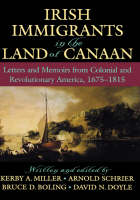 Jacket image for Irish Immigrants in the Land of Canaan