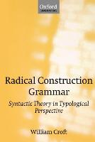 Jacket image for Radical Construction Grammar