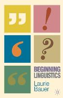 Jacket image for Beginning Linguistics
