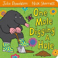 Jacket image for One Mole Digging A Hole