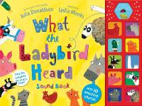 Jacket image for What The Ladybird Heard Sound Book