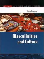 Jacket image for Masculinities and Culture