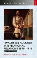 Jacket image for Rivalry and Accord - International Relations 1870-1914