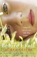 Jacket image for Before I Fall