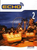 Jacket image for Echo 2 Pupil Book