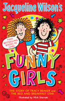 Jacket image for Jacqueline Wilson's Funny Girls