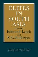 Jacket image for Elites in South Asia