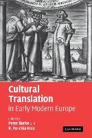 Jacket image for Cultural Translation in Early Modern Europe