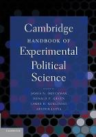 Jacket image for Cambridge Handbook of Experimental Political Science