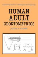 Jacket image for Human Adult Odontometrics
