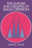 Jacket image for The Nature and Origins of Mass Opinion