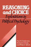 Jacket image for Reasoning and Choice