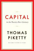 Jacket image for Capital in the Twenty-First Century