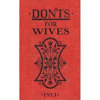 Jacket image for Don'ts for Wives