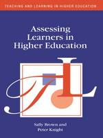 Jacket image for Assessing Learners in Higher Education