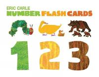 Jacket image for Eric Carle Numbers Flashcards 123