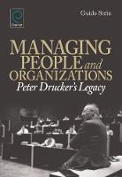 Jacket image for Managing People and Organizations