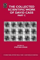Jacket image for The Collected Scientific Work of David Cass Pt. C