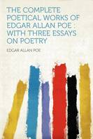 Jacket image for The Complete Poetical Works of Edgar Allan Poe