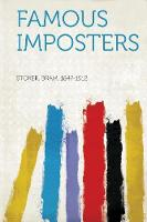 Jacket image for Famous Imposters