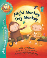 Jacket image for Night Monkey, Day Monkey