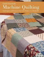 Machine Quilting cover image