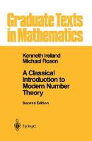 Jacket image for A Classical Introduction to Modern Number Theory