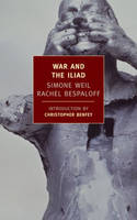 Jacket image for War and the Iliad