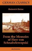 Jacket image for From the Memoirs of Herr Von Schnabelewopski (German Classics)