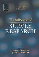Jacket image for Handbook of Survey Research