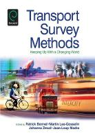 Jacket image for Transport Survey Methods