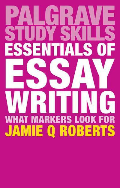 the study skills handbook essay